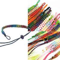 Handmade Ethnic Tribal Charms Wrap Braided Surfer Bracelets Wristband Lucky Gift
