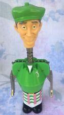 New listing Golf Caddie Figure Wine Bottle Opener Corkscrew Green Plaid Golf Pants Shirt