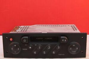 RENAULT MEGANE TUNERLIST CASSETTE TAPE RADIO PLAYER CODE 2001 2002 2003 2004