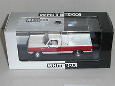 WHITEBOX. WHI 180. DODGE RAM PICK UP 1987 IN RED AND WHITE ` 1 OF 1000 PCS.