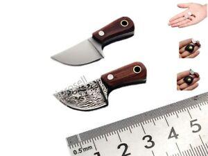 Tiny Fixed Blade POCKET KNIFE Tiny Miniature REAL mini NOT A TOY W/Sheath NEW US