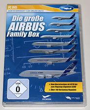 GROßE AIRBUS FAMILY BOX - PC ADDON FÜR MICROSOFT FLIGHT SIMULATOR 2004 FSX A380