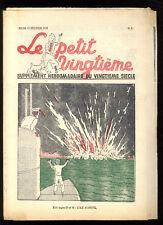 TINTIN LE PETIT TWENTIETH no.7 17 Feb. 65531.5oz'île BLACK HERGé SUPERB