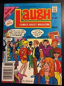 Laugh Comics Digest #68 Archie Betty Veronica Jughead 1987