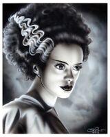 Bride of Frankenstein 8 x 10 Art Print
