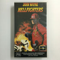 Hellfighters. VHS Video Tape 1968 Movie John Wayne Katharine Ross Jim Hutton
