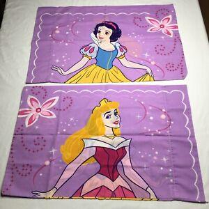 Snow White Cinderella Pillowcases Disney Home Standard Size