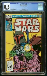 STAR WARS (1983) #68 CGC 8.5 1st APPEARANCE MANDALORIAN BOBA FETT WHITE PAGES