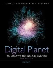 NEW Computer Book DIGITAL PLANET COMPLETE TOMORROWS TECHNOLOGY & YOU 2012 Beekma