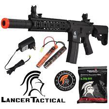 Lancer Tactical Black LT-15CB Gen 2 400 FPS KeyMod Electric M4 AEG Airsoft Rifle