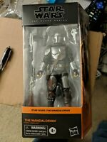 Star Wars The Black Series The Mandalorian Beskar Armor 6 inch figure IN HAND