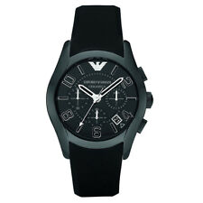 Emporio Armani AR1430 Keramik Herren Chronograph Armband Uhr Schwarz