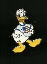 Donald Duck Wearing USA Flag T-Shirt Splendid Walt Disney Pin