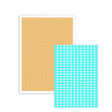 Fustella BIG Shot Plus A4 file diamanti puntini rombi embossing 660580 Sizzix