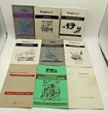 More details for vintage massey ferguson manuals. instruction books x9, ploughs, mowers, & others