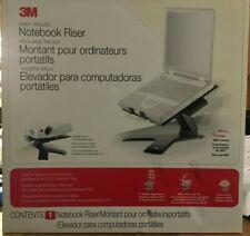 3M notebook computer riser Model LX600MB adjustable swivel holder
