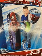 Amazing Spider-Man 36 Inch Combo Bop Punching Bag And Gloves Marvel Comics New