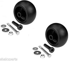 2 PK 10301 Rotary Deck Wheel Roller w/ Hardware Compatible With Exmark 103-3168