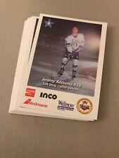 1996-97 Sudbury Wolves OHL Complete Team Set