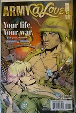 ARMY @ LOVE #1 VF NM- 1st imprimé Vertigo Comics 2007