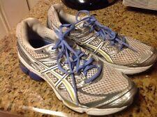 Women ASICS Gel-Cumulus 13 Size  9 T199N Gray Purple Training Running Shoes
