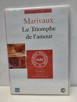 DVD Marivaux le triomphe de l'amour NEUF SOUS BLISTER