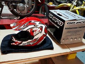 Gp Pro Motocross Helmet  small 55-56cm NOS.