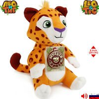 LEO Leo & Tig Russian Talking Soft Toys Original Licensed Sounds 8''/20 cm