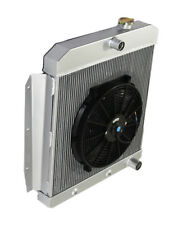 "3 Core Performance RADIATOR+14"" Fan for 55-58 Chevy-/K-Series Truck/ Pickup"