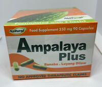 Ampalaya Plus 90 Capsules( Bitter Gourd Supplement with Turmeric and Banaba)