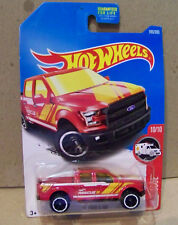 HOT WHEELS HW RESCUE SERIES'15 FORD F-150 IN RED #10/10 OR #185/365