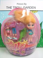 """2004 TROLLZ GIRL WITH EXTRA OUTFIT  - 4"""" Dam Trollz Doll - NEW"""