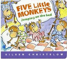 Five Little Monkeys Jumping on the Bed Lap Board Book (A Five Little Monkeys Sto