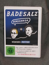 Neuwertige Badesalz DVD Bindannda Hessisch Mastery