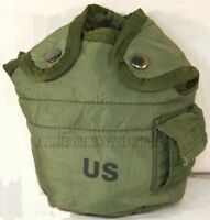 U.S. Military 1 QT Canteen Cover Pouch w/ Alice Clips 8465-00-860-0256 EXC / VGC