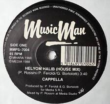 """CAPPELLA - Helyom Halib - Excellent Condition 7"""" Single"""