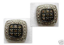.20 CT Champagne Brown Color Diamond Earring Studs - Cushion Shape