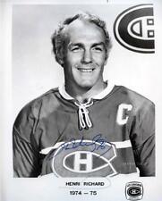 Rare Vintage Montreal Canadiens 1974 Press Media Photo Set Signed Autographed!