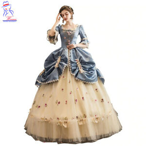 High-end Court Rococo Baroque Marie Antoinette Ball Dresses 18th Century Dress