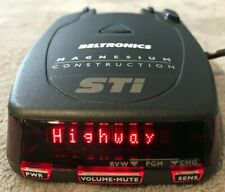 BELTRONICS STI DRIVER RADAR LASER DETECTOR (GREAT CHRISTMAS GIFT) LOOK !!