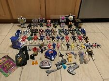 LOT of Vintage Mighty Power Ranger Toys(Bandai), Action Figures, and Accessories