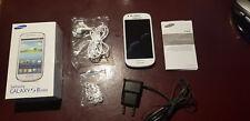 Samsung Galaxy S 3 Mini/ GT-I8190 Marble Weiß! Top