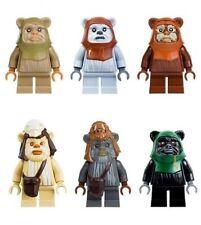 Lego Minifig Figur Ewok Pabloo Star Wars 490