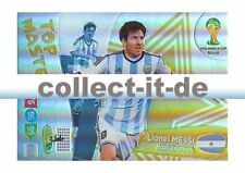 Panini Adrenalyn XL World Cup 2014 - 406 - Lionel Messi - Top Master