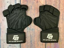 Ventilated Weight Lifting Gloves with Built In Wrist Wraps Suits Men Women M