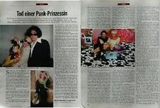 SPIEGEL 39/2000 Der Tod von Paula Yates, die mit Bob Geldof verheiratet war