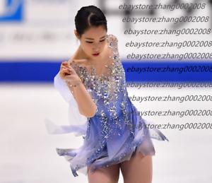 Ice Figure Skating Dress /Rhythmic Gymnastics Costume/Twirling Tap Dance Leotard