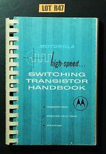 Motorola Switching Transistor Handbook 1966 VINTAGE ELECTRONICS DIY BOOK LOT R47