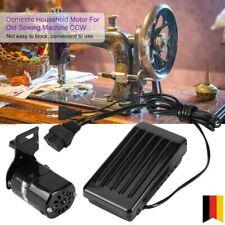 180W Nähmaschinenmotor mit Fußpedal Pedal für CCW Alte Nähmaschine Haushalt 220V