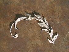 Stencil, Plaster Stencil,Leaf Vine Wall Stencil, Furniture Stencil